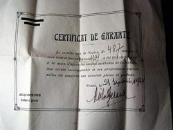 A Mirecourt violin – Michel Gerard 1934