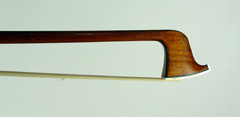 A Fine Mirecourt Violin Bow branded Charles Pique c1910