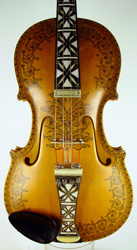 Hardanger Fiddle by Sveinung Gyoeveland 1956
