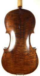 A Swedish Violin by PJ Strom, Helsingborg 1890