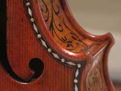 The most beautiful violin in the world - 1683 Stradivari in the Ashmolean Museum