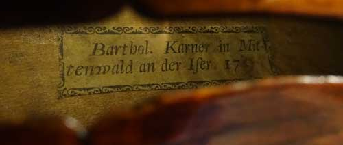 Karner Violin for sale