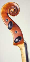 Willy Klein Violin, Rostock 1973