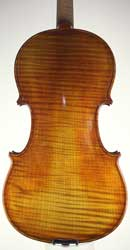 Stradivarius pattern violin with Italian oil varnish