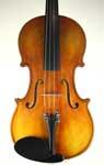 Stradivarius pattern violin with Italian oil varnish