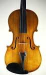 MSV 98 Stradivarius Pattern Violin with antique finish, Martin Swan Violins 2014