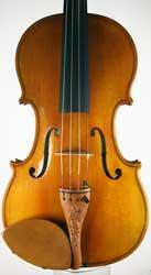 MSV 91 Stradivarius Pattern Violin, Martin Swan Violins 2013