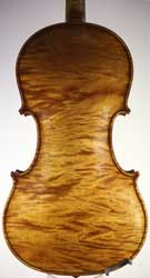 James Meek Violin, Carlisle circa 1910