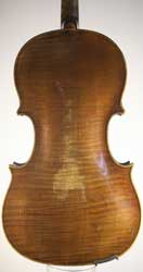 John Carter small Viola, London c1780
