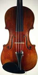 Johann Prüller Violin, Vienna 1907