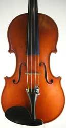 Violin by Hippolyte Chrétien Silvestre, Paris 1892