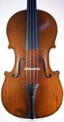 A small Mirecourt viola by Rémy, circa 1840
