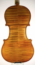 New handmade violin for Martin Swan Violins