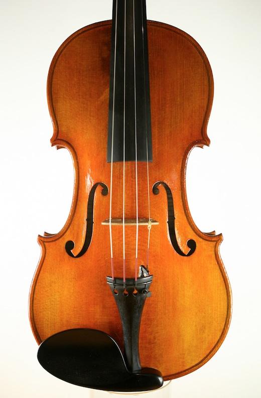 Martin Swan Violins MSV 56 Violin Stradivarius Molitor 2011