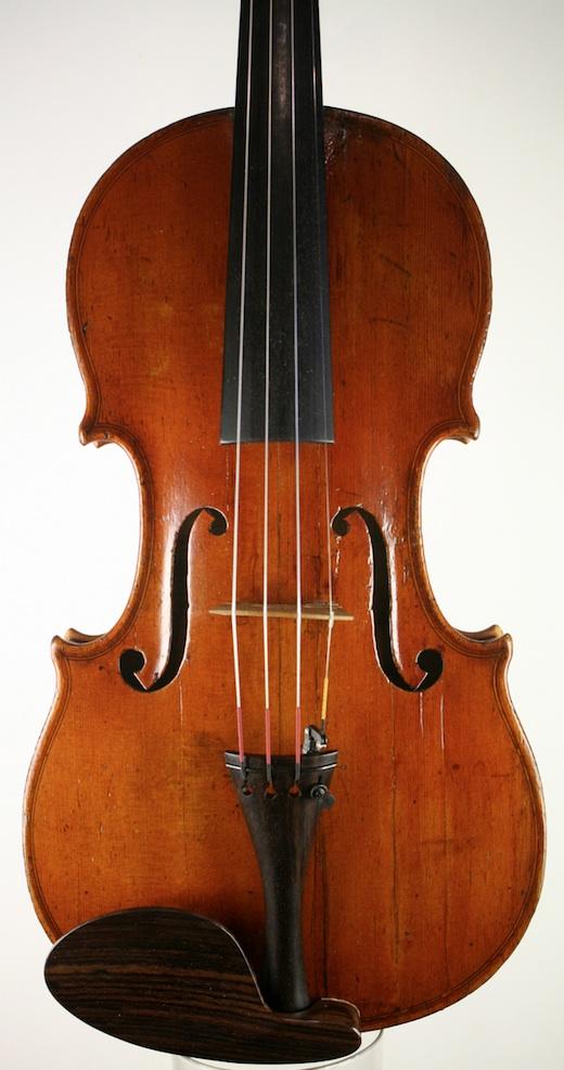 Mirecourt violin, Charles Simonin c1840