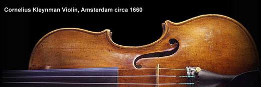 Cornelis Kleynman Violin, Amsterdam circa 1660