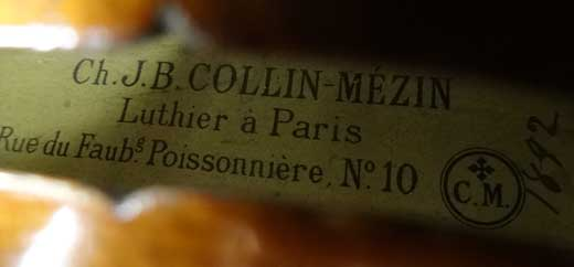 Collin-Mézin Violin