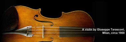 Giuseppe Tarasconi Violin, Milan circa 19