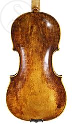 JB Havelka Violin back photo