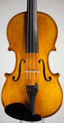 New handmade violin