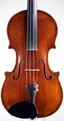 Paul Bailly Violin, London 1890
