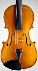 Small handmade viola