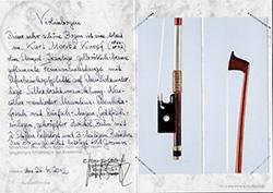 Karl Moritz Knopf Violin Bow