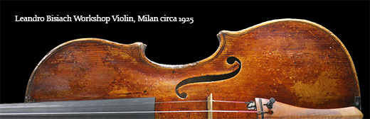 Leandro Bisiach Workshop Violin, Milan circa 1925