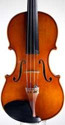 Contemporary Italian violin