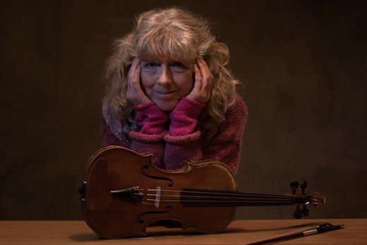 Tarasconi violin for Jane Sinclair of the BBC National Orchestra of Wales