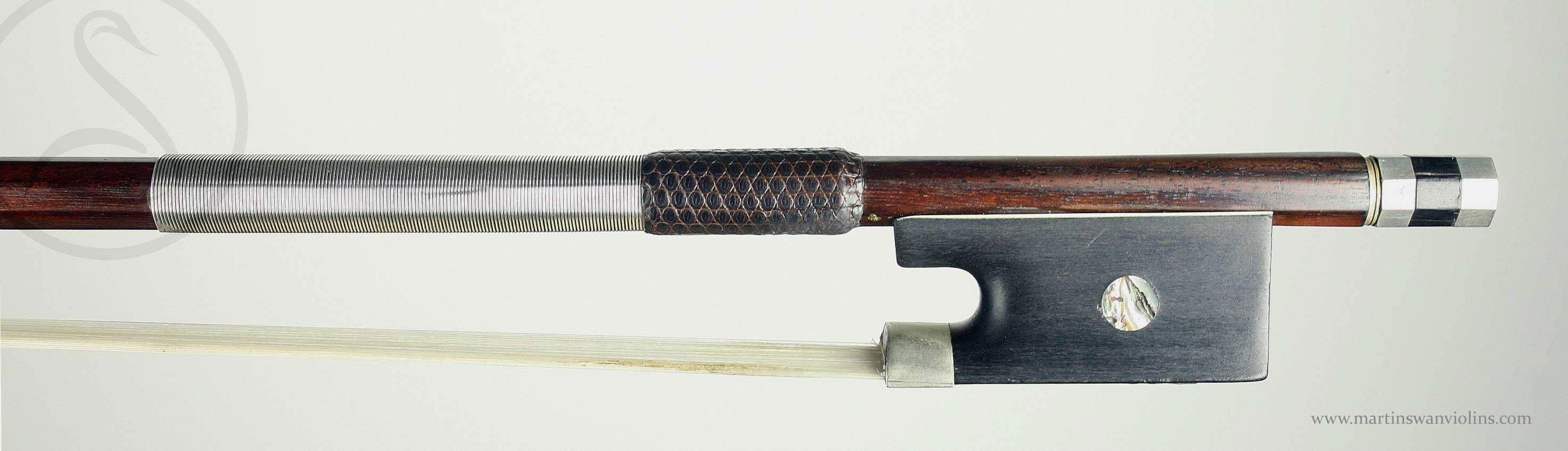 etienne pajeot violin bow martin swan violins. Black Bedroom Furniture Sets. Home Design Ideas