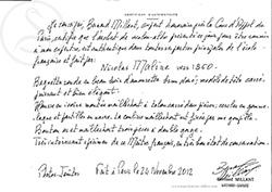 Nicolas Maline Viola Bow