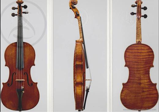 Violin by Nicolo Gagliano, Naples, 1755 - Royal Academy of Music