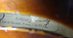 Georges Cunault Violin
