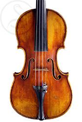 Joseph Calot Violin front photo