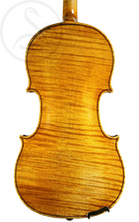 Georges Cunault Violin, Paris 1898 back photo