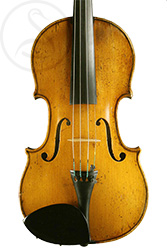 Georges Cunault Violin, Paris 1898 front photo