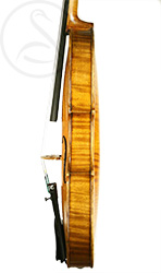 Georges Cunault Violin, Paris 1898 side photo