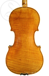 Etienne Laprevotte Violin back photo