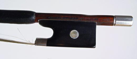 Violin bow Gustav Prager Markneukirchenc1910