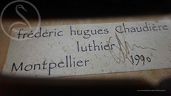 Frédéric Chaudière Viola label