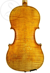François Hippolyte Caussin Viola back photo