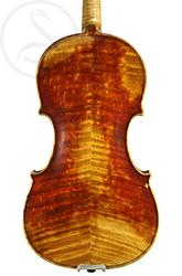 Charles Maucotel Violin back photo