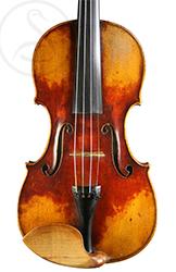 Charles Maucotel Violin front photo