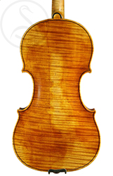 Hippolyte Chrétien Silvestre Violin back photo
