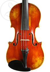 Charles Gaillard Violin front photo