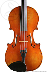 Hilaire Darche Violin front photo