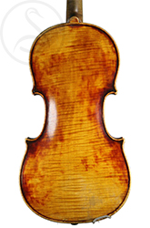 Mirecourt Violin back photo
