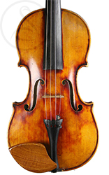 Mirecourt Violin front photo