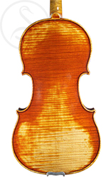 Charles François Gand (Père) Violin back photo